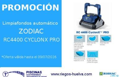 Oferta Limpiafondos Automático ZODIAC RC4400 CYCLONX PRO